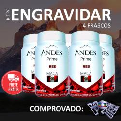 kit para engravidar maça peruana andes prime red